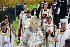 Corpus Christi procession, 2018, SSPX Seminary, Econe, Switzerland ...